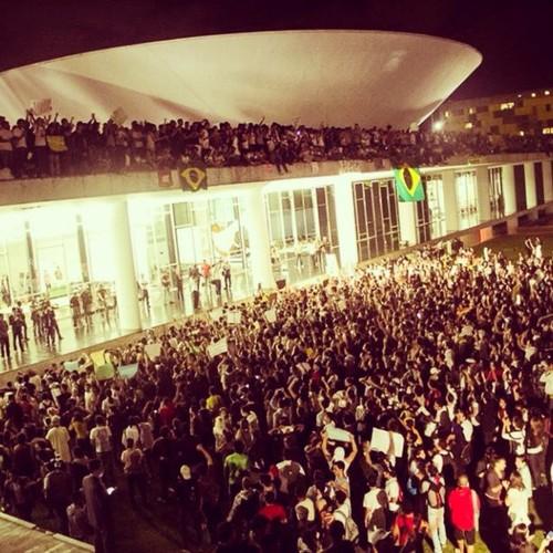 Congresso Nacional, 17 de Junho de 2013, Brasília.