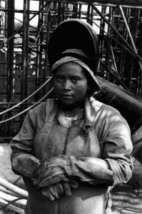 mulher negra trabalhadora
