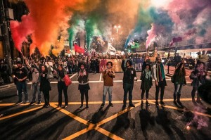 Ato ocorrido em São Paulo para protestar contra o massacre ocorrido em Orlando
