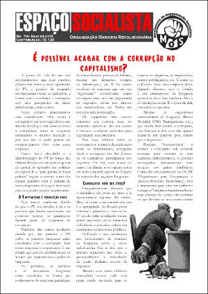 Capa do jornal 110